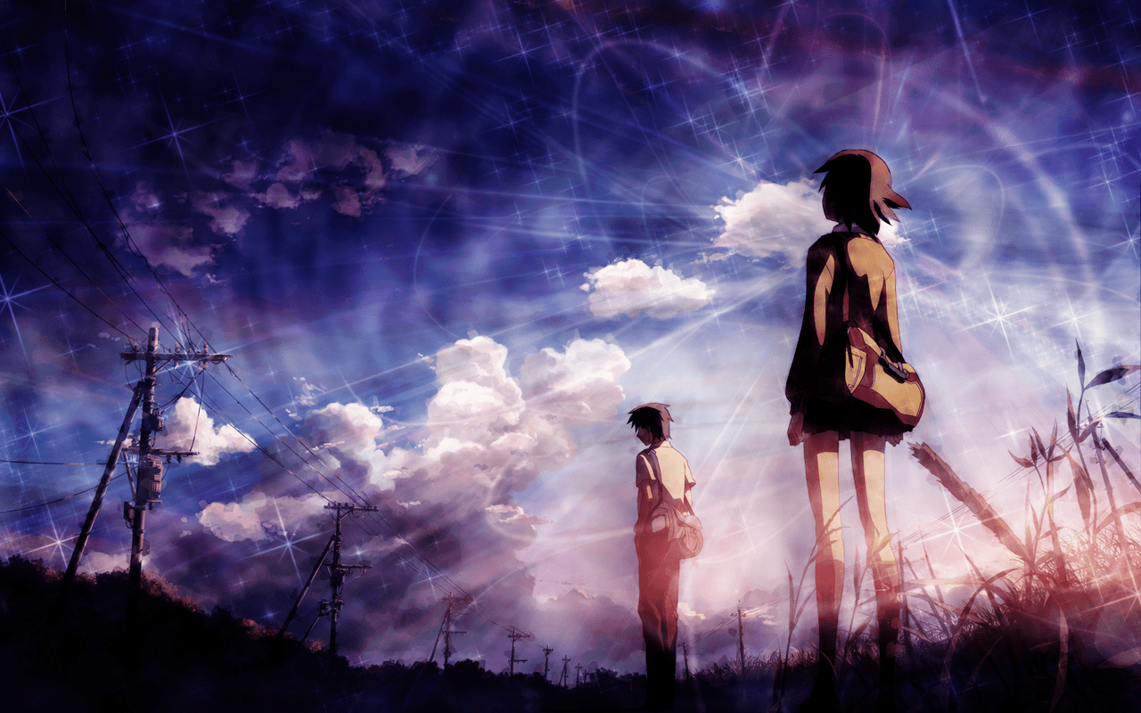 Go Get It Girl Laptop Wallpaper 5 Centimeters Per Second Review Getting Up Early