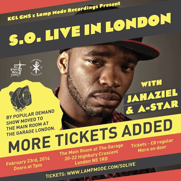 S.O. Live In London