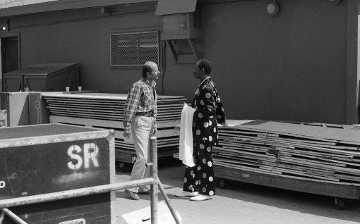 Ornette Coleman & Joe Zawinul | Hollywood Bowl | June 19, 1982 | Photo by Mark Weber
