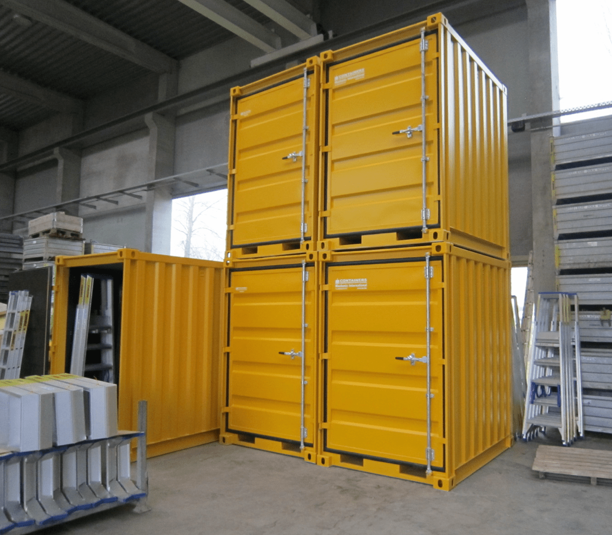 Kleine Container Small Modified Containers References Mechanic International