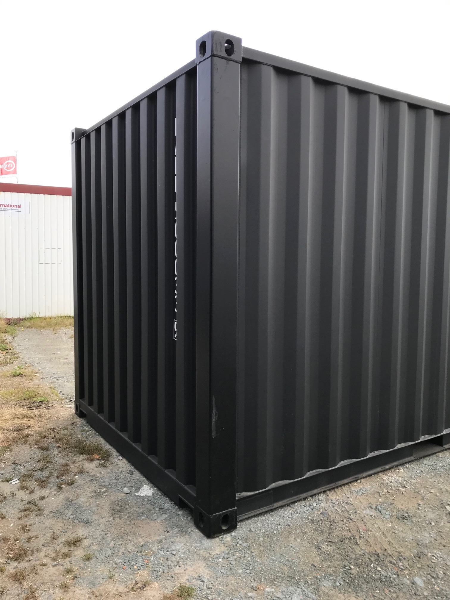 Seecontainer 20ft Schwarze Seecontainer (erste Reise) | Promotions | Mechanic International