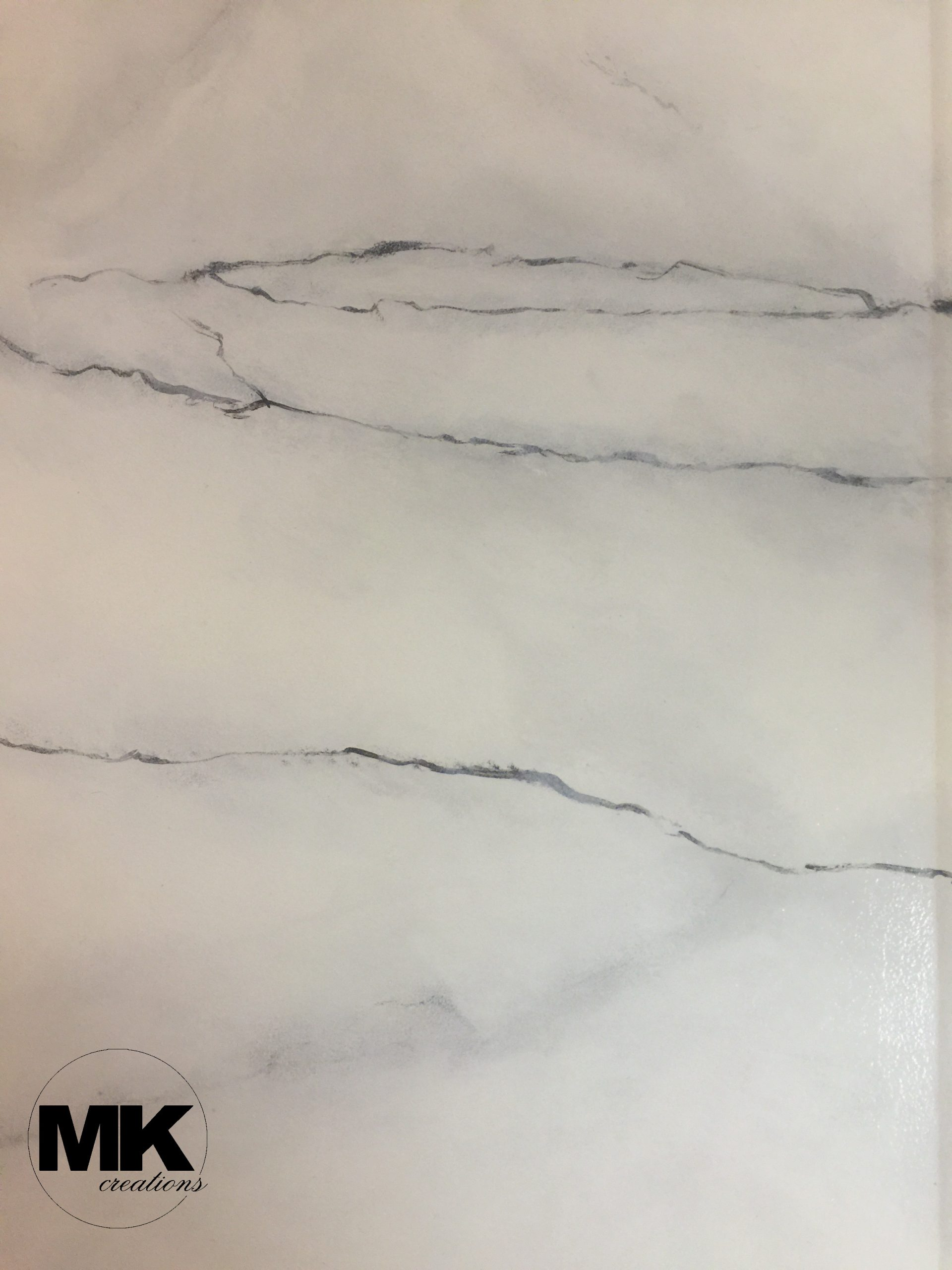 Diy Faux Carrara Marble Countertops Mk Creations