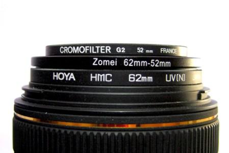 filters 002 Coup de coeur sur : Les bagues adaptatrices pour filtres photo