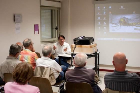 230411 conf P.Litzler 7 Conférence sur le travail dAuteur avec Philippe Litzler