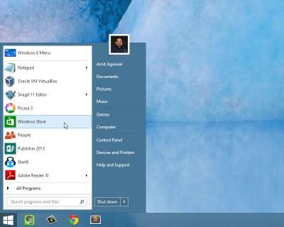 Visszatérhet a Start menü a Windows 8-ba? - WinMagazin
