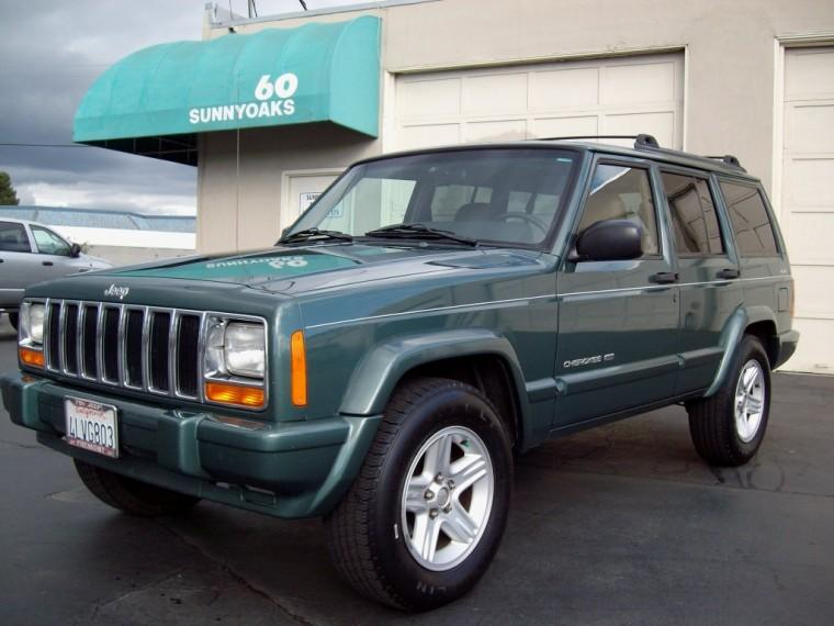 2000 Green Jeep Cherokee Truck Photo Pictures of Jeeps