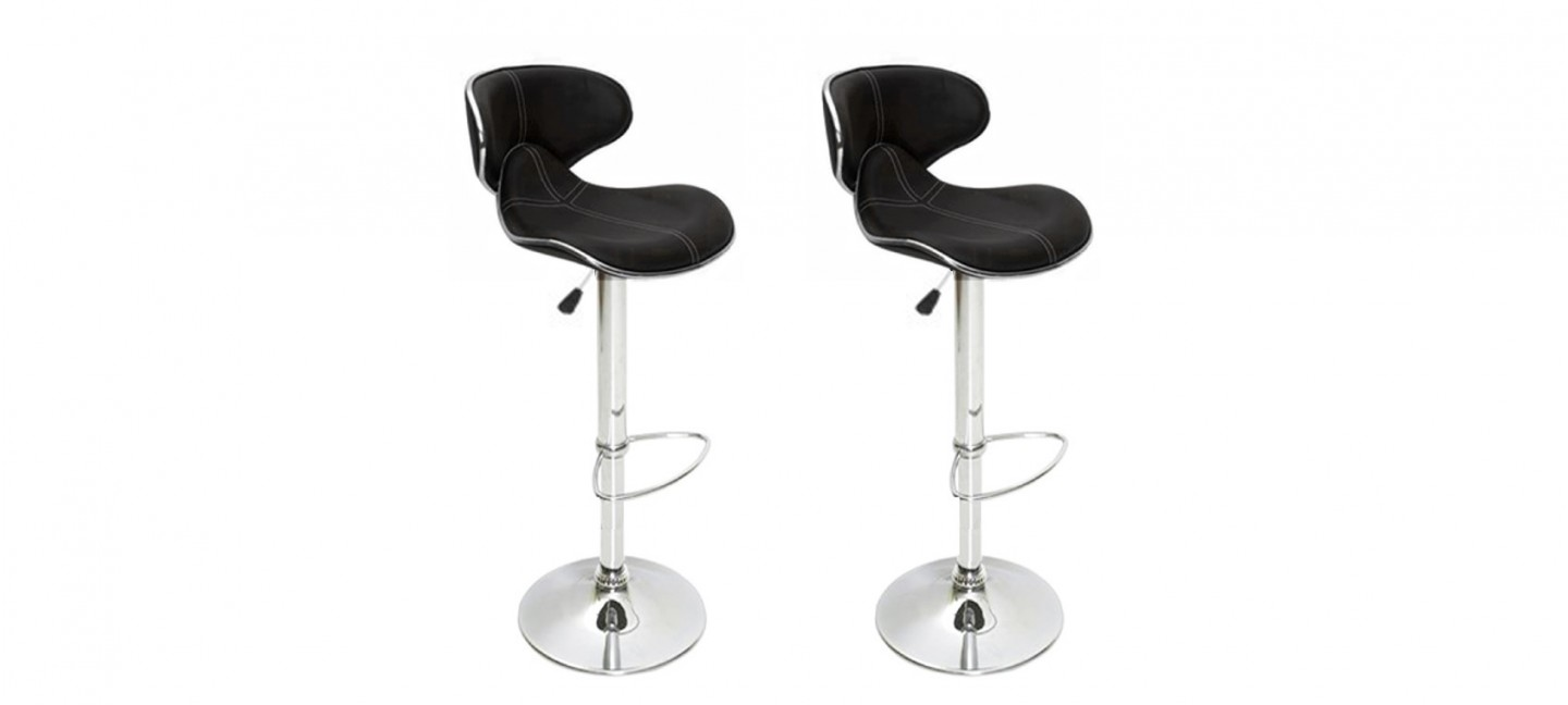 Tabourets Bar Arno Mobilier Design Tabouret Bar Par Lot De 2