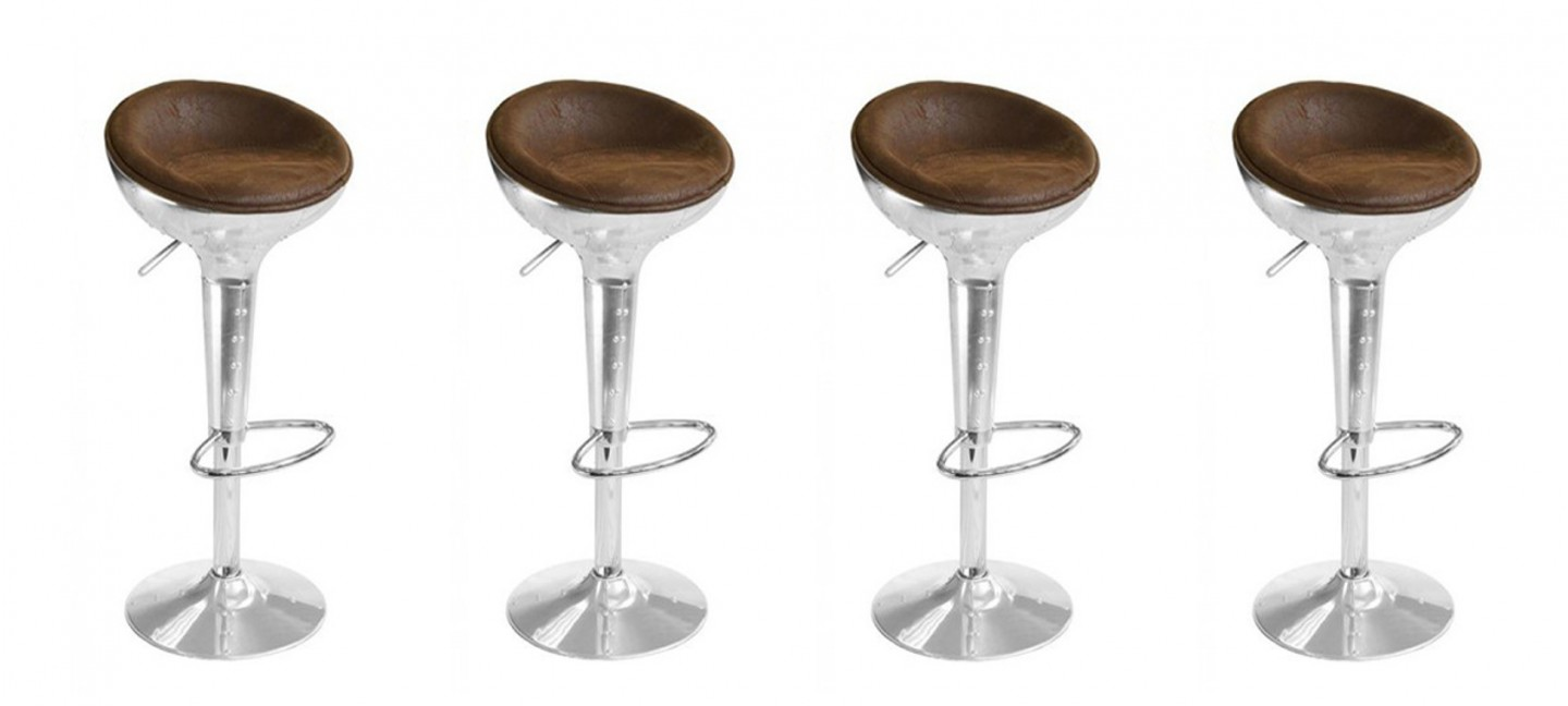 Tabouret De Bar Design Vintage Aviator