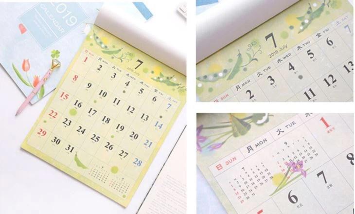 Kína 2018 Fali naptár nyomtatás, Fotó Naptár 2018, Fotó Fali