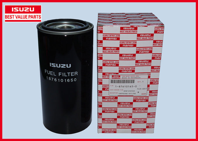 Metal ISUZU Fuel Filter 1876101650 , CYZ / EXZ 6WF1 Diesel Fuel Filter