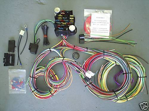 Wires  Wiring Harnesses - Mid Fifty F-100 Parts