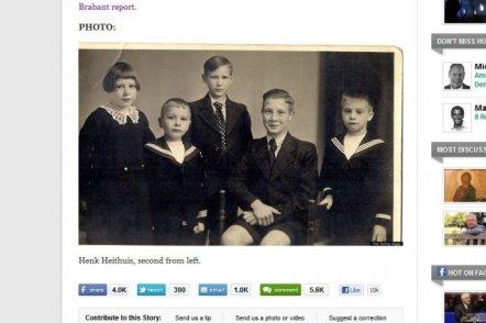 Na zdjęciu: Henk Heithuis, drugi od lewej, na długo przed kastracją