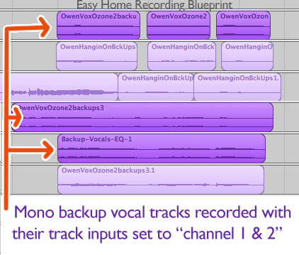 Why are my vocals only on one side?