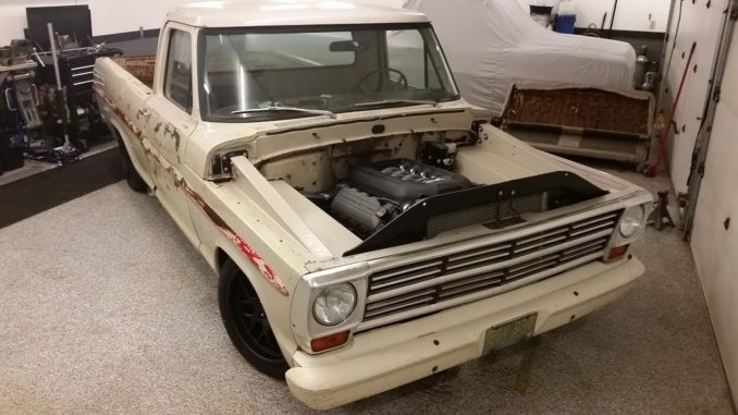 1969 Ford F100 50 Coyote Swap / 6-Speed Project