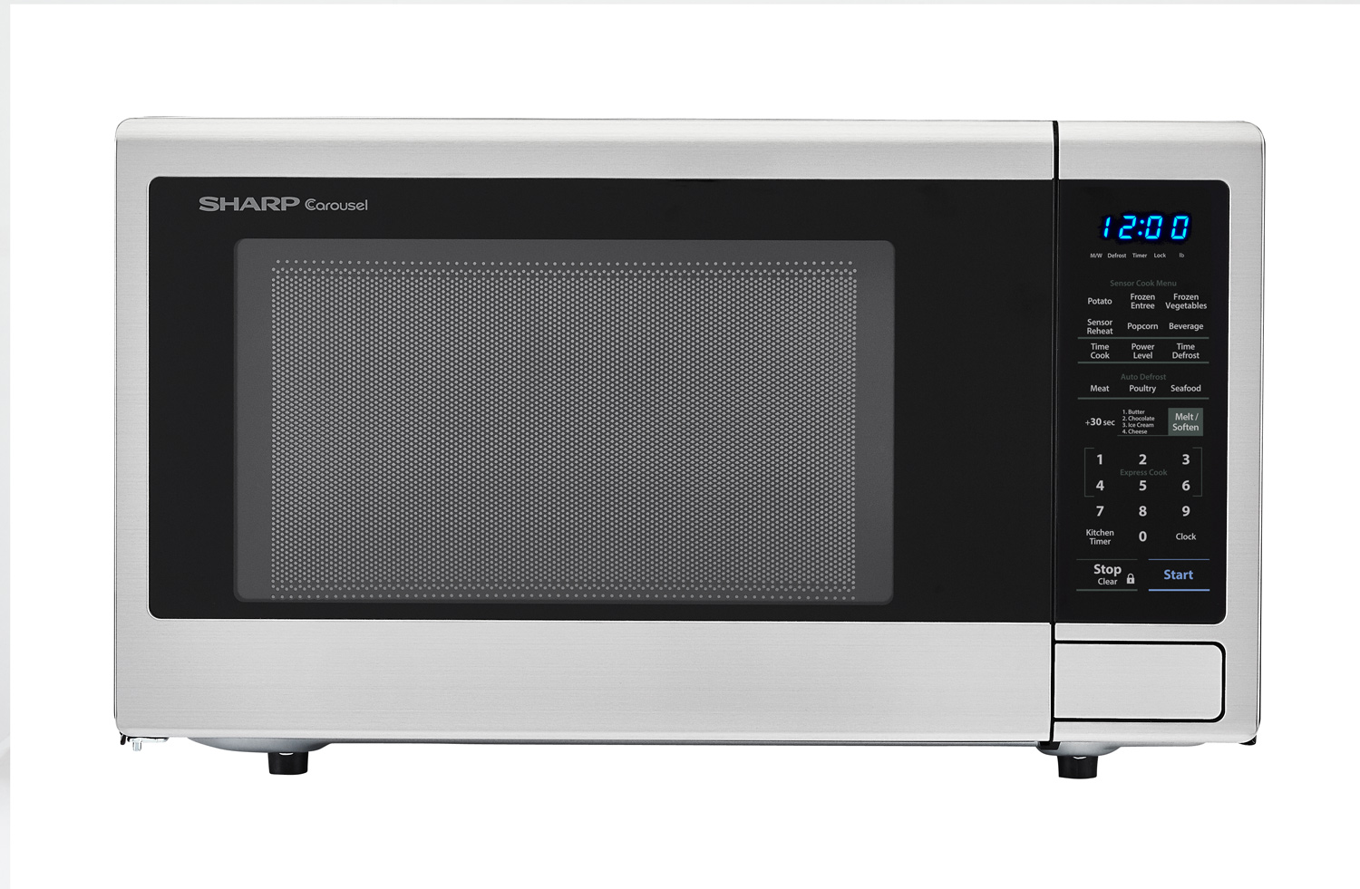Countertop Cooking Appliances Smc1840cs 1 8 Cu Ft Stainless Steel Microwave Sharp