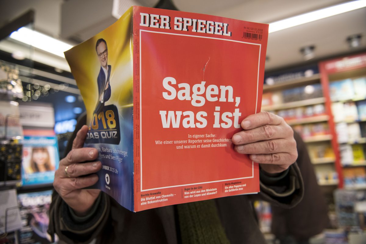 Spiegel 24 Der Spiegel Fake News Reporter May Face Criminal Charges
