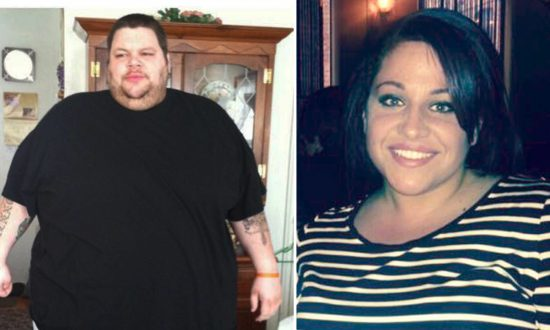 New York Couple Tie the Knot After Incredible Weight Loss Journey