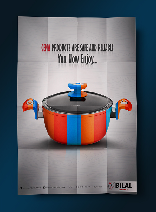 Cookware Poster Design 02 Menu, Flyer, Poster, Book, Package and - video brochure template