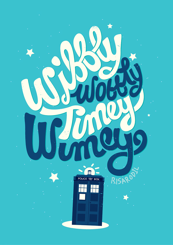 Olaf Frozen Wallpaper Quotes Wibbly Wobbly Timey Wimey On Behance