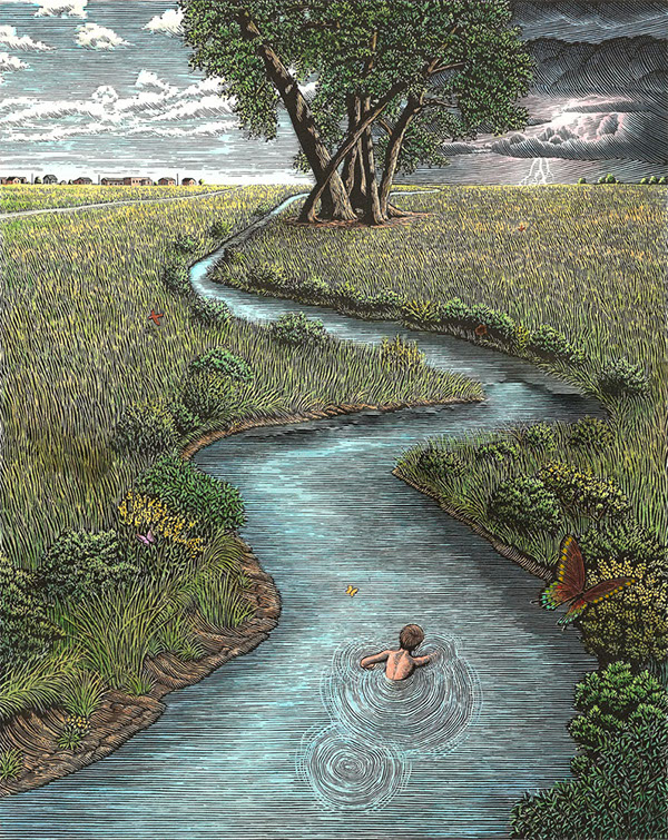 Douglas Smith's Inspirational Drawings