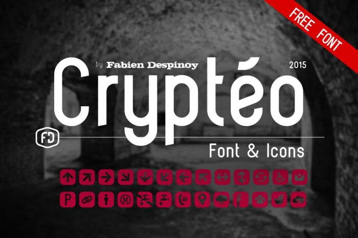 Crytéo Free Font Download