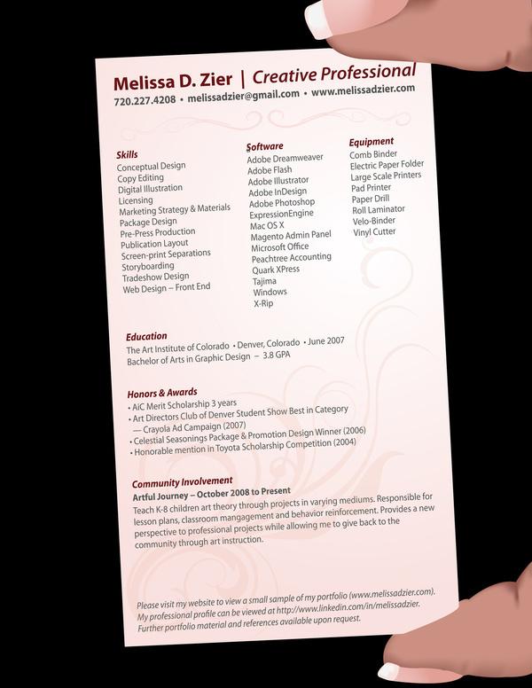 Käyntikorttiin mahtuu paljon tietoa, kun asettelet oikein - graphic design skills resume