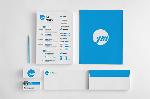 resume folder or envelope
