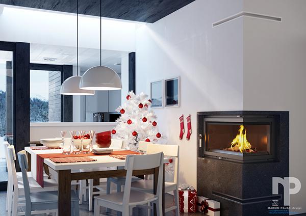 Wkład kominkowy MAJA WIEŻA 15 kW #kratkipl #kratki #kominek - farbe fürs wohnzimmer