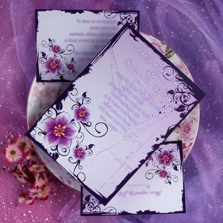 Invitaciones de boda para imprimir gratis en casa¡Bellas! - Paperblog