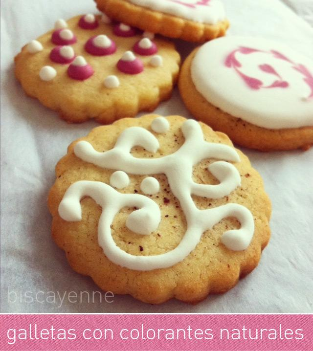Tutorial De Galletas Decoradas Con Glasa Galletas Con Colorantes Naturales - Paperblog