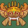 monkey-forest-ubud-map Bali Mask