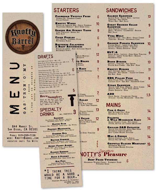 Drive-In Restaurants from years past Diners and Diner menu - catering menu template free
