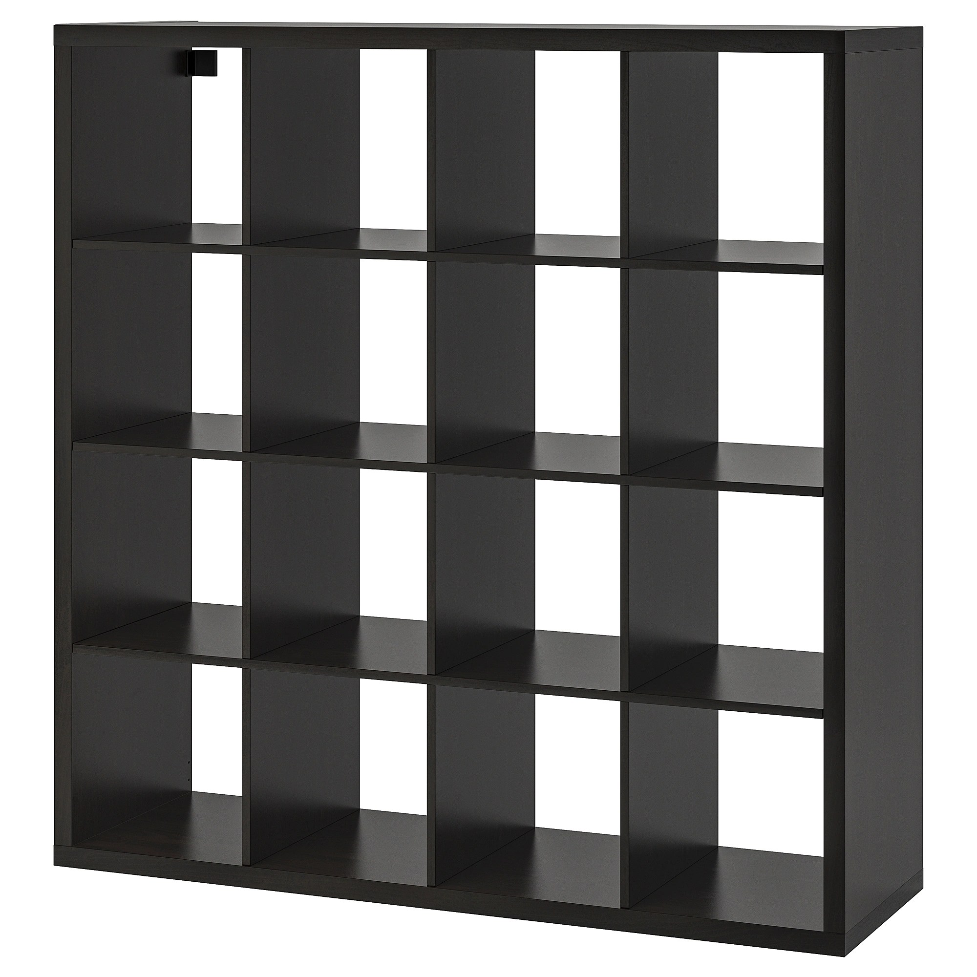Ikea Expedit Ovet Shelf Unit Kallax Black Brown