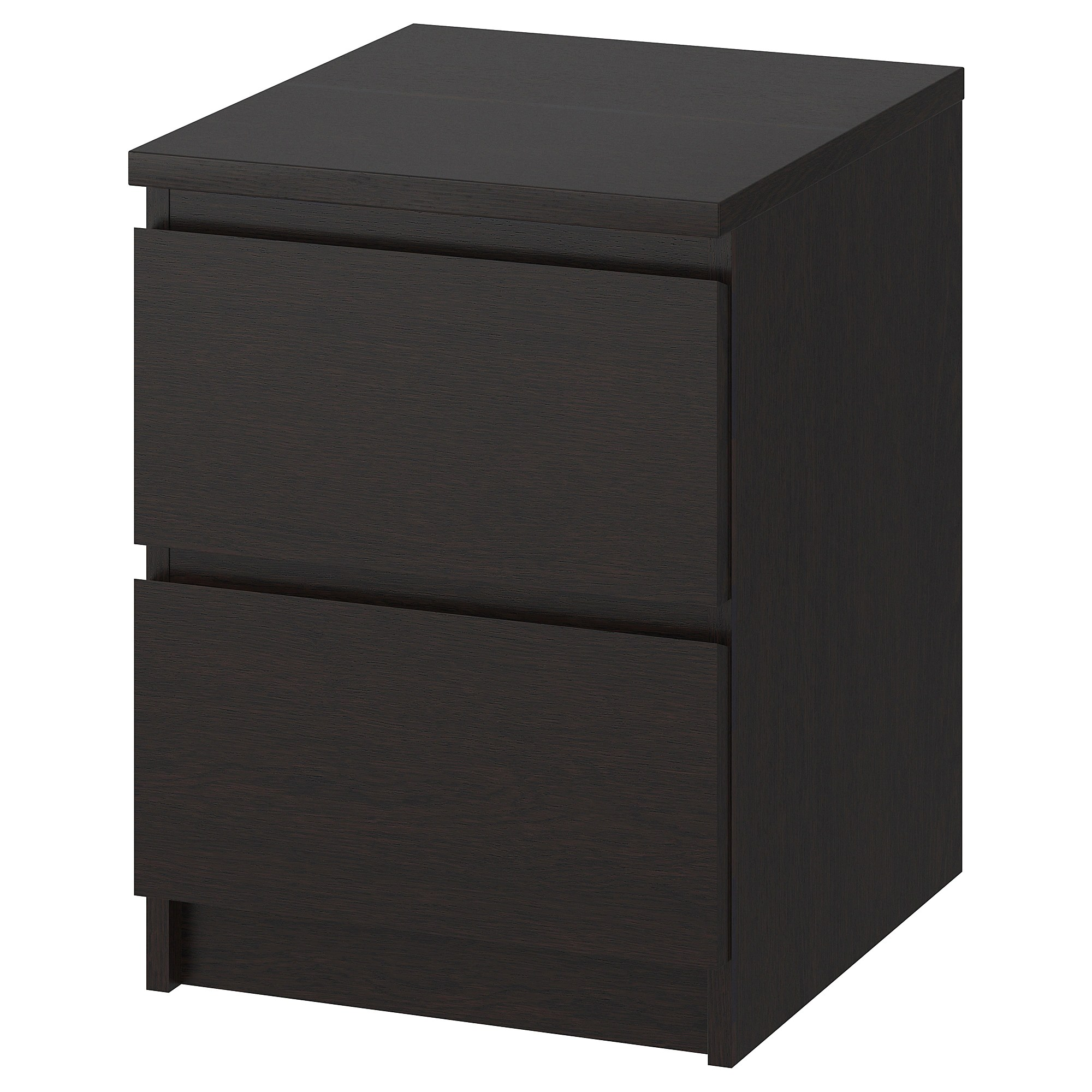 Ikea Malm Kommode Youtube 2 Drawer Chest Malm Black Brown