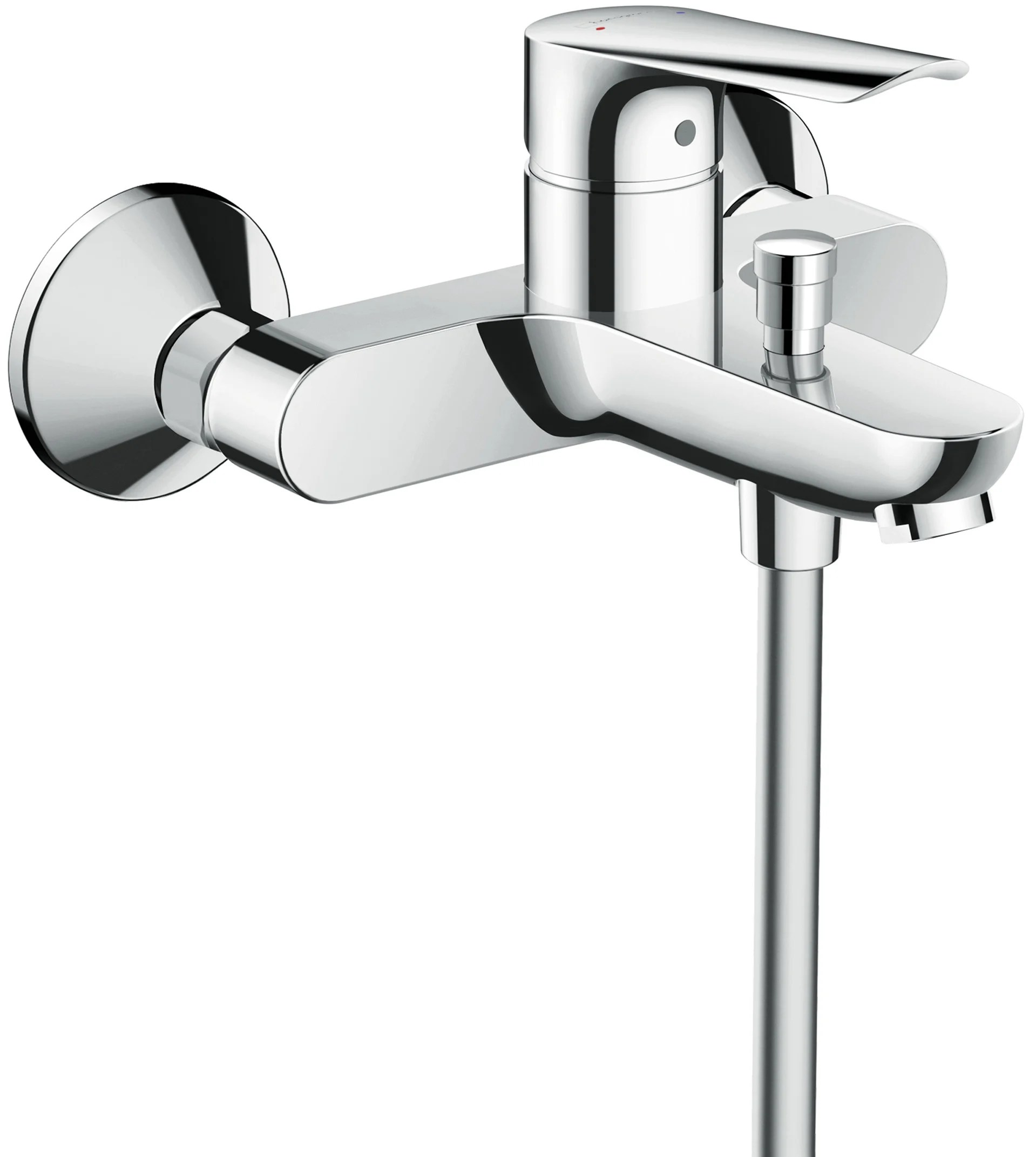 Mitigeur Thermostatique De Baignoire Chrome Brillant Hansgrohe Logis Leroy Merlin