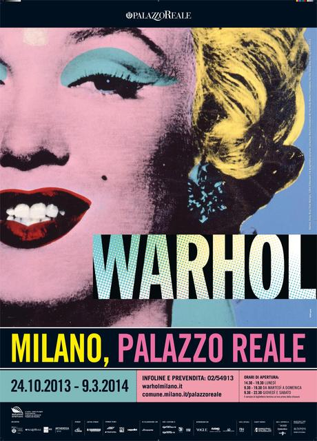 Marilyn Monroe Pop Milano Mostre: Warhol A Palazzo Reale