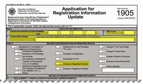 1905 form - Barebearsbackyard - Printable Address Change Form