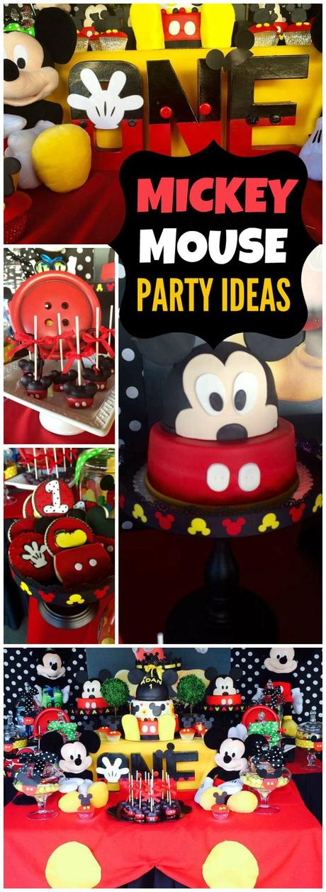 Disney Party Themes For Toddler Boys - Paperblog - mickey mouse boy birthday party ideas