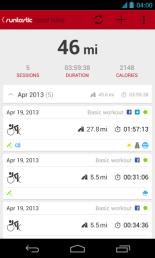 Runtastic Road Bike PRO V APK Paperblog