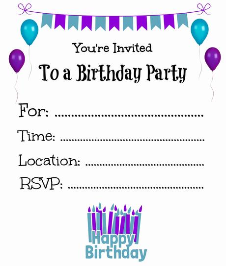 Print Party Invitations Online - Paperblog