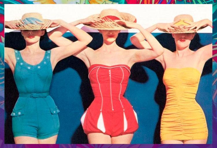 Go Retro This Summer With Vintage Beachwear Paperblog