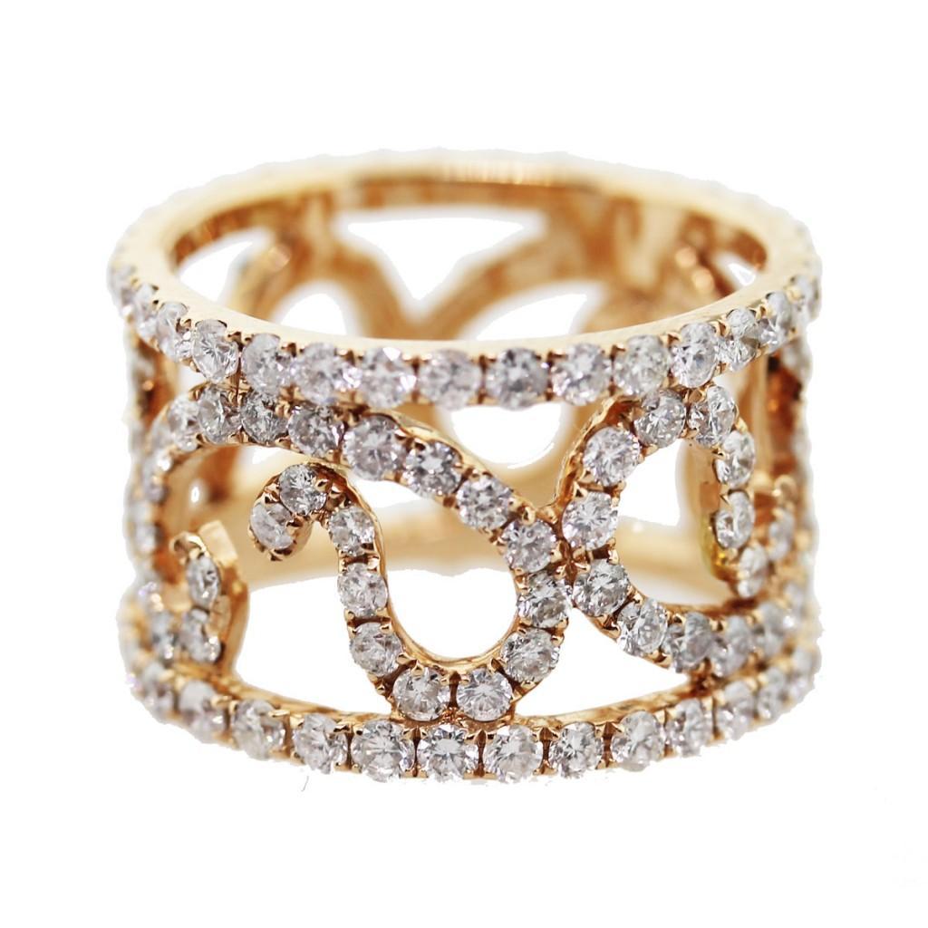 wedding rings chocolate diamonds rose gold and diamond wedding ring download - Chocolate Diamonds Wedding Rings