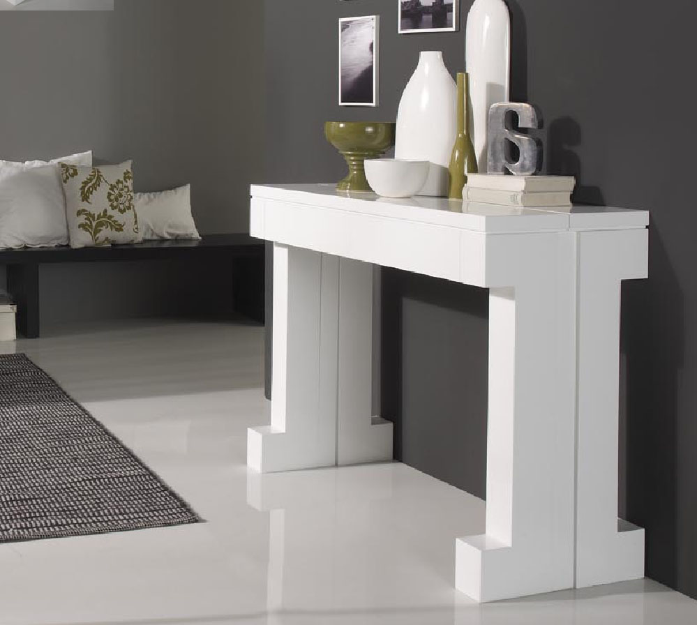 Table Carree Extensible Console Extensible