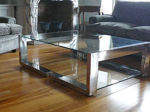 Table Basse Contemporaine En Verre - Table Basse Contemporaine