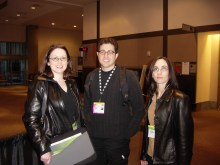 Tantek Çelik, Carrie Bickner, Tanya Rabourn