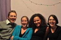 Matt Mullenweg, Rebecca Lammons, Sarah Clarke, Julie Sugar