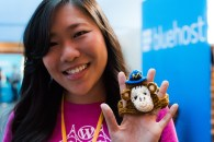 Monkey hats for cats, from Mailchimp. :)