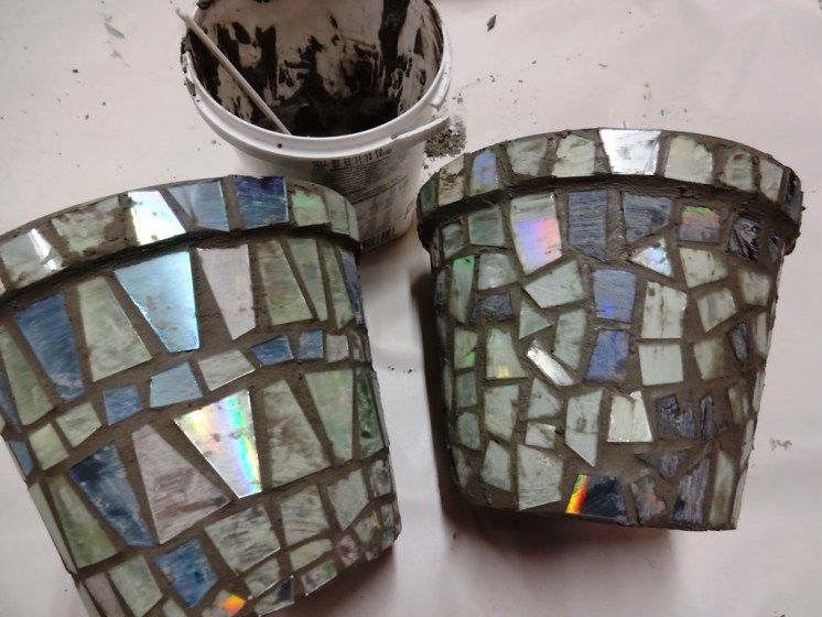 Grouting all done and ready to dry.