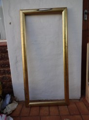 The magnificent gold frame from The Revival Emporium.