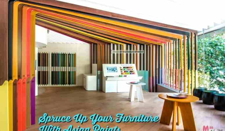 Spruce Up Your Furniture With Asian Paints